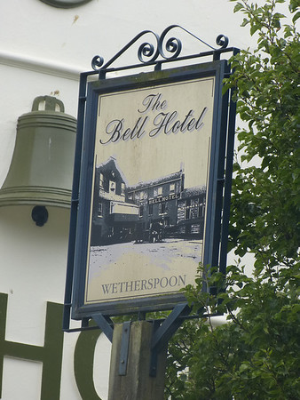 Pub Sign - The Bell Hotel, Orford Hill, Norwich 130824