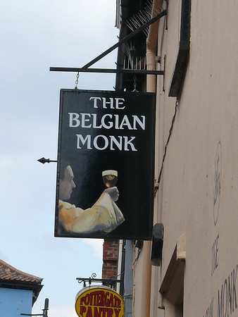 Pub Sign - The Belgian Monk, Pottergate, Norwich 110611