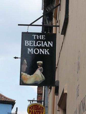 Pub Sign - The Belgian Monk, Pottergate, Norwich 110611