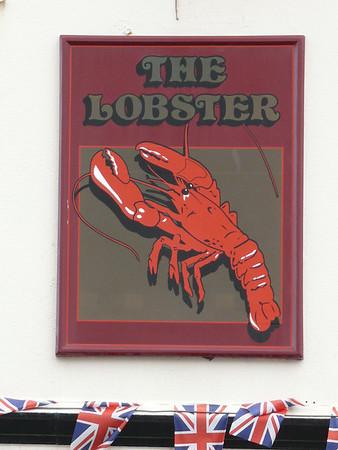 Pub Sign - The Lobster, High Street, Sheringham 110616