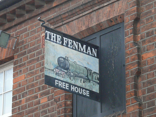 Pub Sign - The Fenman, Waterloo Street, Kings Lynn 110610