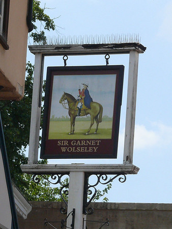 Pub Sign - Sir Garnet Wolseley, Market Place, Norwich 110611