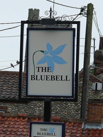 Pub Sign - The Bluebell, Langham 110616
