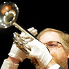 Dave Burkhardt play Taps to end the Broomfield Veteran's Memorial Museum's annual Veterans Day ceremony at Broomfield High School on Friday.<br /> <br /> <br /> November 11, 2011<br /> staff photo/ David R. Jennings