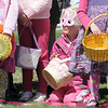 Hayley Smith, 5, wearing bunny ear glasses waits to begin collecting candy at the 18th Annual Eggstravaganza Egg Scramble at John Shaw Field in Community Park on Saturday.<br /> April 7, 2012 <br /> staff photo/ David R. Jennings