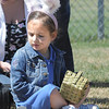 Rosanna Senff, 4, waits on the edge of the 3-4 year old square during the 18th Annual Eggstravaganza Egg Scramble at John Shaw Field in Community Park on Saturday.<br /> April 7, 2012 <br /> staff photo/ David R. Jennings