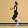 Instructor Dawn Keating runs with her pumpkin during the Great Pumpkin Workout at the Paul Derda Recreation Center on Thursday.<br /> October 25, 2012<br /> staff photo/ David R. Jennings