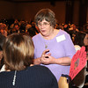 Jean Paxton chats with an attendee during the  2012 Heart of Broomfield Award ceremony at the Omni Interlocken Resort on Monday.<br /> <br /> <br /> April 9, 2012 <br /> staff photo/ David R. Jennings
