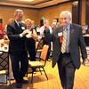 Heart of Broomfield Senior winner Hank Stovall walks to the podium to accept his award during the  2012 Heart of Broomfield Award ceremony at the Omni Interlocken Resort on Monday.<br /> <br /> <br /> April 9, 2012 <br /> staff photo/ David R. Jennings