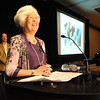 Heart of Broomfield Education winner Diane Etsuko Johnson gives her acceptance speech during the  2012 Heart of Broomfield Award ceremony at the Omni Interlocken Resort on Monday.<br /> <br /> <br /> April 9, 2012 <br /> staff photo/ David R. Jennings