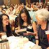 Heart of Broomfield Education winner Diane Etsuko Johnson, right,  chats with her daughters during the  2012 Heart of Broomfield Award ceremony at the Omni Interlocken Resort on Monday.<br /> <br /> <br /> April 9, 2012 <br /> staff photo/ David R. Jennings