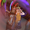 """Teachers Janet Gonzalez, left, and Sar Pringle dance during the 48th annual Bal Swan Ball with the 1960's theme of """"Peace, Love and Bal Swan"""" at the Omni Interlocken Hotel Resort on Saturday.<br /> March 2, 2013<br /> staff photo/ David R. Jennings"""
