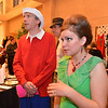 """Adam and Tara Rickeerson attended the ball dressed as Gilligan and Mary Ann for the 48th annual Bal Swan Ball with the 1960's theme of """"Peace, Love and Bal Swan"""" at the Omni Interlocken Hotel Resort on Saturday.<br /> March 2, 2013<br /> staff photo/ David R. Jennings"""