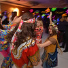 "Bal Swan teachers dressed in 1960's costumes dance during the 48th annual Bal Swan Ball with the 1960's theme of ""Peace, Love and Bal Swan"" at the Omni Interlocken Hotel Resort on Saturday.<br /> March 2, 2013<br /> staff photo/ David R. Jennings"