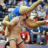 Broomfield's Zach Stodden wrestles Omaha North's JaCobi Jones in the 170 pound weight class in the championship match at Centaurus High  on Saturday.<br /> January 26, 2013<br /> staff photo/ David R. Jennings