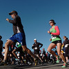 Runners start the 5k run in front of the school during the Kohl Elementary School 5k fun run fundraiser for the school on Saturday.<br /> April 30, 2011<br /> staff photo/David R. Jennings