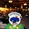 Table center pieces to help inspire participants at  the 3rd annual Eagle Sports Gala for Broomfield High School Athletics at the Church Ranch Event Center on Friday.<br /> March 16,  2012 <br /> staff photo/ David R. Jennings