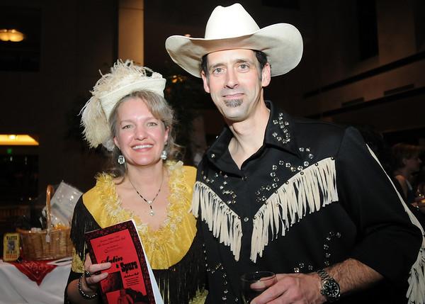 Cheryl and Matt Weadley at the 45th Bal Swan Ball at the Omni Interlocken Resort on Saturday.<br /> <br /> March 6, 2010<br /> Staff photo/David R. Jennings