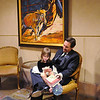 Bal Swan director Brian Conly, entertains his daughter Lily, 4, at the 45th Bal Swan Ball at the Omni Interlocken Resort on Saturday.<br /> <br /> March 6, 2010<br /> Staff photo/David R. Jennings
