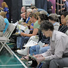 Participants wiat their turn to have their blood drawn for testing during the 9Health Fair at Broomfield United Methodist Church on Saturday.<br /> <br /> April 21, 2012 <br /> staff photo/ David R. Jennings