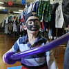 Josh Hertzenberg, 6, plays with his balloon sword during A Precious Child open house on Saturday.<br /> May 14, 2010<br /> Staff photo/ David R. Jennings