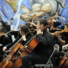 The High School Symphonic Orchestra cello section performs during the Adams 12 Five Stars Schools Orchestra Festival at Legacy High School on Saturday.<br /> For more photos please see broomfieldenterprise.com.<br /> December 3, 2011<br /> staff photo/ David R. Jennings
