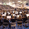 Combined Middle and High school orchestras 510 strong perform at the Adams 12 Five Stars Schools Orchestra Festival at Legacy High School on Saturday.<br /> For more photos please see broomfieldenterprise.com.<br /> December 3, 2011<br /> staff photo/ David R. Jennings