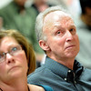 Dottie and Tom Shannon, parents of Kelsey Shannon, watch a slide show of pictures of their daughter during Alexander Pacheco's plea and sentencing hearing on Monday. Pacheco received 48 years in prison after pleading guilty to second-degree murder in the death of Kelsey Shannon of Broomfield.<br /> Photo by Marty Caivano/Camera/April 26, 2010