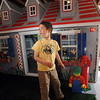 Alexander Gintchin, 6, left, and his father Lazar explore Alexander's Lego playhouse made by volunteers from the Make-A-Wish Foundation of Colorado in the basement of his home in the Anthem neighborhood of Broomfield on Sunday.<br /> <br /> April 29, 2012 <br /> staff photo/ David R. Jennings