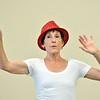 """Karen Shanley rehearses """" Flashback""""  for the Adult Community of the School of Ballet Nouveau Colorado Showcase on Saturday.<br /> July 14, 2012<br /> staff photo/ David R. Jennings"""