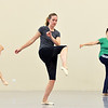 """Alexis Ball , center, dances with Karen Shanley, left, and Heather Sutton while rehearsing """" Flashback""""  for the Adult Community of the School of Ballet Nouveau Colorado Showcase on Saturday.<br /> <br /> July 14, 2012<br /> staff photo/ David R. Jennings"""