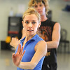 Julie King and Colby Foss rehearse the Snow Queen dance for Ballet Nouveau Colorado's production of The Nutcracker at BNC on Wednesday.<br /> December 2, 2009<br /> Staff photo/David R. Jennings