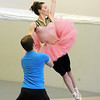 Sean Watson and Megan Coatney rehearse the Snow Queen dance for Ballet Nouveau Colorado's production of The Nutcracker at BNC on Wednesday.<br /> December 2, 2009<br /> Staff photo/David R. Jenningsw