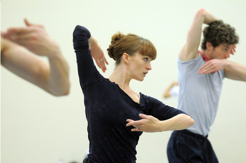 "Julia Meng gestures while dancing with Colby Foss and the company during rehearsal of Ballet Nouveau Colorado's Love in the Digital Age on Saturday.<br /> For more photos please see  <a href=""http://www.broomfieldenterprise.com"">http://www.broomfieldenterprise.com</a><br /> January 21, 2012<br /> staff photo/ David R. Jennings"