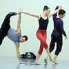 "Brandon Freeman, left, and Meredith Strathmeyer with Ben Delony perform a dance together during rehearsal of Ballet Nouveau Colorado's Love in the Digital Age on Saturday.<br /> For more photos please see  <a href=""http://www.broomfieldenterprise.com"">http://www.broomfieldenterprise.com</a><br /> January 21, 2012<br /> staff photo/ David R. Jennings"