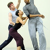 "Colby Foss, left, Marian Faustino and Damien Patterson dance together during rehearsal of Ballet Nouveau Colorado's Love in the Digital Age on Saturday.<br /> For more photos please see  <a href=""http://www.broomfieldenterprise.com"">http://www.broomfieldenterprise.com</a><br /> January 21, 2012<br /> staff photo/ David R. Jennings"