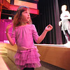 Ellie Stillman, 3, watches and dances with the BNC company dancers perfom during Ballet Nouveau Colorado's young person's guide to dance at the Auditorium on Satuday.<br /> March 24, 2012 <br /> staff photo/ David R. Jennings