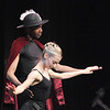 Company dancers Damien Patterson and Julie King perform a pre ballet dance during Ballet Nouveau Colorado's young person's guide to dance at the Auditorium on Satuday.<br /> March 24, 2012 <br /> staff photo/ David R. Jennings