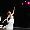 Company dancer Julia Meng performs an early form of modern dance during Ballet Nouveau Colorado's young person's guide to dance at the Auditorium on Satuday.<br /> March 24, 2012 <br /> staff photo/ David R. Jennings