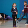 Grace Nordgren, 10, left, and Katie blair, 12, practice using their canes during a rehearsal of the BackStory Theatre's Youth Theatre production of Bird Brains at the Broomfield Community Center on Saturday.<br /> October 29, 2011<br /> staff photo/ David R. Jennings