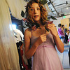 Meg Tocci, 13, waits for her makeup session as the Summer Youth Players prepare backstage for Saturday's matinee performance of A Midsummer Night's Dream at the Audi.<br /> August 1, 2009<br /> staff photo/David Jennings