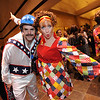Greg and Cristy Jones show off their costumes while attending the Bal Swan Ball, Saturday Night Fever, fundraiser at the Omni Interlocken Resort Hotel on Saturday.<br /> March 3, 2012 <br /> staff photo/ David R. Jennings