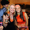 Maria Hallberg, left, oses with Emma Vega while attending the Bal Swan Ball, Saturday Night Fever, fundraiser at the Omni Interlocken Resort Hotel on Saturday.<br /> <br /> March 3, 2012 <br /> staff photo/ David R. Jennings