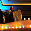 Sunny Justise, Bal Swan Children's Center development director, speaks to atendees at the Bal Swan Ball at the Omni Interlocken Resort Hotel on Saturday.<br />  March 3, 2012 <br /> staff photo/ David R. Jennings