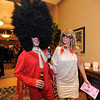 Steve Bucca, left, is guided around by his wife Katherine while attending the Bal Swan Ball, Saturday Night Fever, fundraiser at the Omni Interlocken Resort Hotel on Saturday.<br /> March 3, 2012 <br /> staff photo/ David R. Jennings