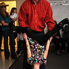 Rick Brodie holds his daughter Gracie, 6, upside down while dancing at Bal Swan Children's Center's Pint Sized Ball aty the center on Saturday.<br /> <br /> November 14, 2009<br /> Staff photo/David R. Jennings