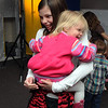 Maddy Gebhardt, 12, dances with her cousin Ryan Olsen, 2, at Bal Swan Children's Center's Pint Sized Ball aty the center on Saturday.<br /> <br /> November 14, 2009<br /> Staff photo/David R. Jennings