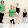 "Abigail Meyer, 8, performs a dance of the seasons during Ballet Nouveau Colorado's Ballet Expressions classes for the physically and mentally challenged students on Thursday at the BNC studios.<br /> For more photos please see  <a href=""http://www.broomfieldenterprise.com"">http://www.broomfieldenterprise.com</a>.<br /> January 12, 2012<br /> staff photo/ David R. Jennings"