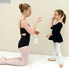 "Ballet assistant Marie Marcus, 14, left, chats with Riley Tuttle, 7, during Ballet Nouveau Colorado's Ballet Expressions classes for the physically and mentally challenged students on Thursday at the BNC studios.<br /> For more photos please see  <a href=""http://www.broomfieldenterprise.com"">http://www.broomfieldenterprise.com</a>.<br /> January 12, 2012<br /> staff photo/ David R. Jennings"