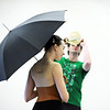 """Meredith Strathmeyer holds an umbrella while dancing with Corbin Kalinowski during the dance  """"An Occasional Dream"""" set to the music of David Bowie at rehearsal for Ballet Nouveau Colorado's Rock Ballets at the BNC studio on Thursday.<br /> <br /> March 29, 2012 <br /> staff photo/ David R. Jennings"""